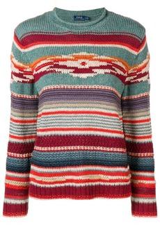 Ralph Lauren: Polo intarsia stripe sweater