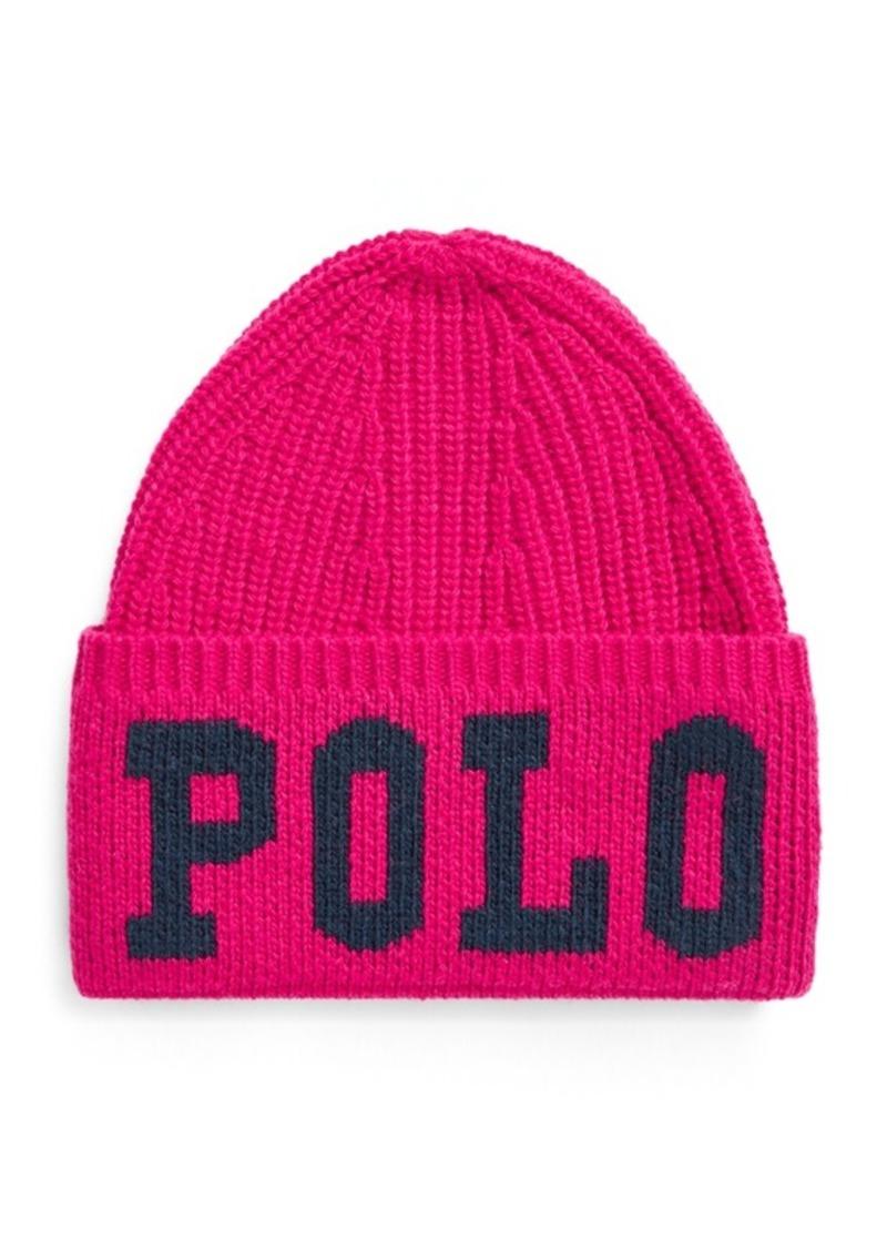 Ralph Lauren Polo Intarsia Wool-Blend Hat