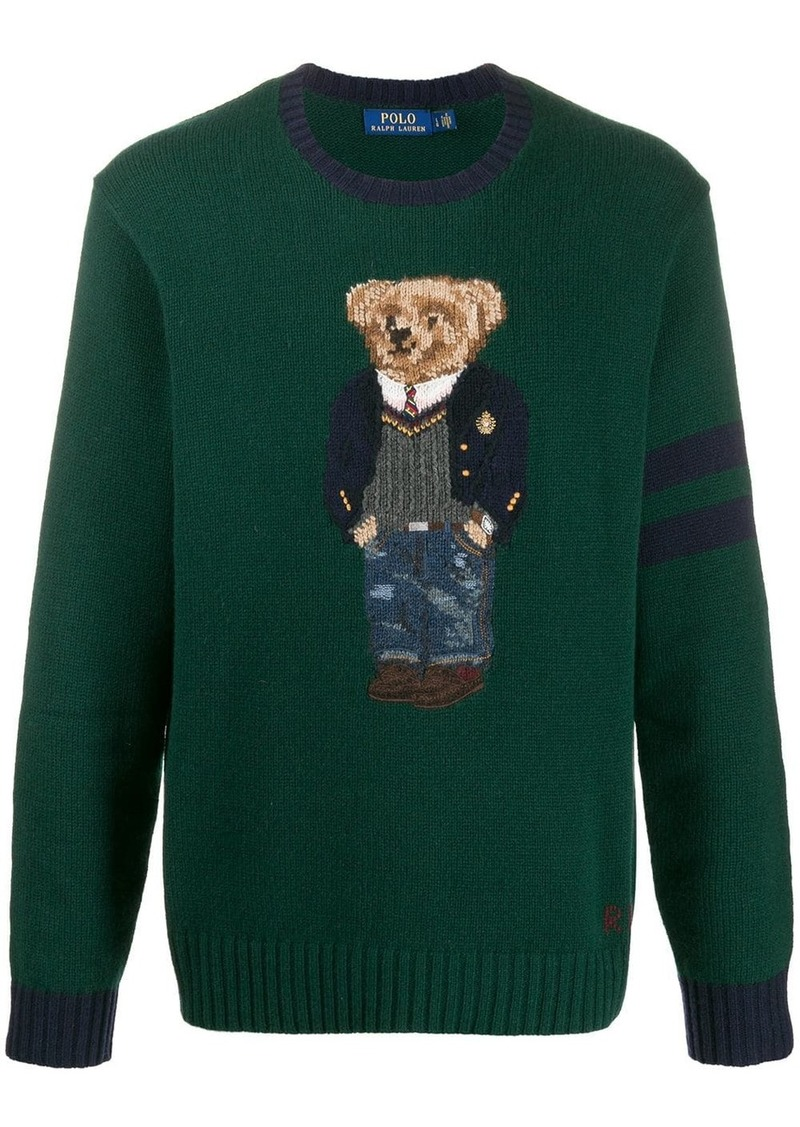 Ralph Lauren Polo knitted teddy jumper