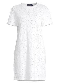 Ralph Lauren: Polo Lace Eyelet T-Shirt Dress