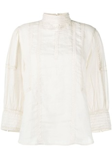 Ralph Lauren: Polo lace panel blouse