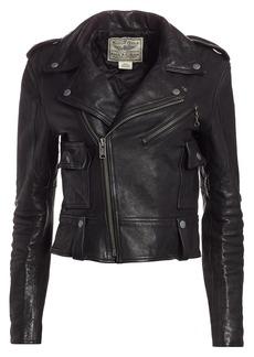 Ralph Lauren: Polo Leather Moto Jacket