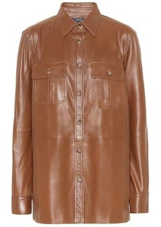 Ralph Lauren: Polo Leather shirt