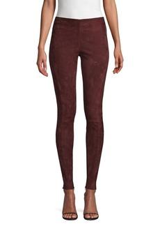 Ralph Lauren: Polo Leland Suede Skinny Pants