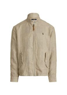 Ralph Lauren Polo Linen-Blend Zip-Up Jacket