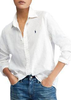 Ralph Lauren: Polo Linen Button-Down Shirt