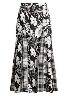 Ralph Lauren: Polo Linen Paneled Skirt