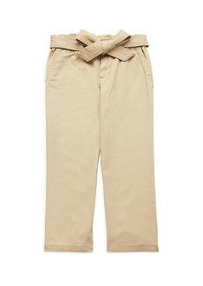 Ralph Lauren: Polo Little Girl's Paperbag Pants