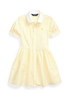 Ralph Lauren: Polo Little Girls Striped Shirtdress