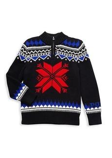 Ralph Lauren: Polo Little Kid's Front-Zip Fair Isle Sweater