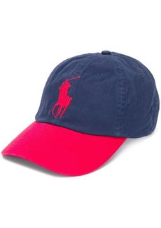 Ralph Lauren Polo logo colour block cap