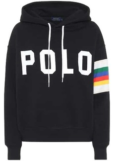 Ralph Lauren: Polo Logo cotton-blend hoodie