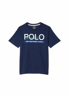 Ralph Lauren: Polo Logo Cotton Jersey Tee (Big Kids)