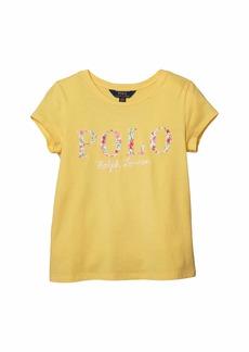 Ralph Lauren: Polo Logo Cotton Jersey Tee (Little Kids/Big Kids)