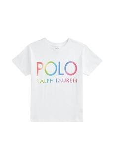 Ralph Lauren: Polo Logo Cotton Jersey Tee (Toddler)