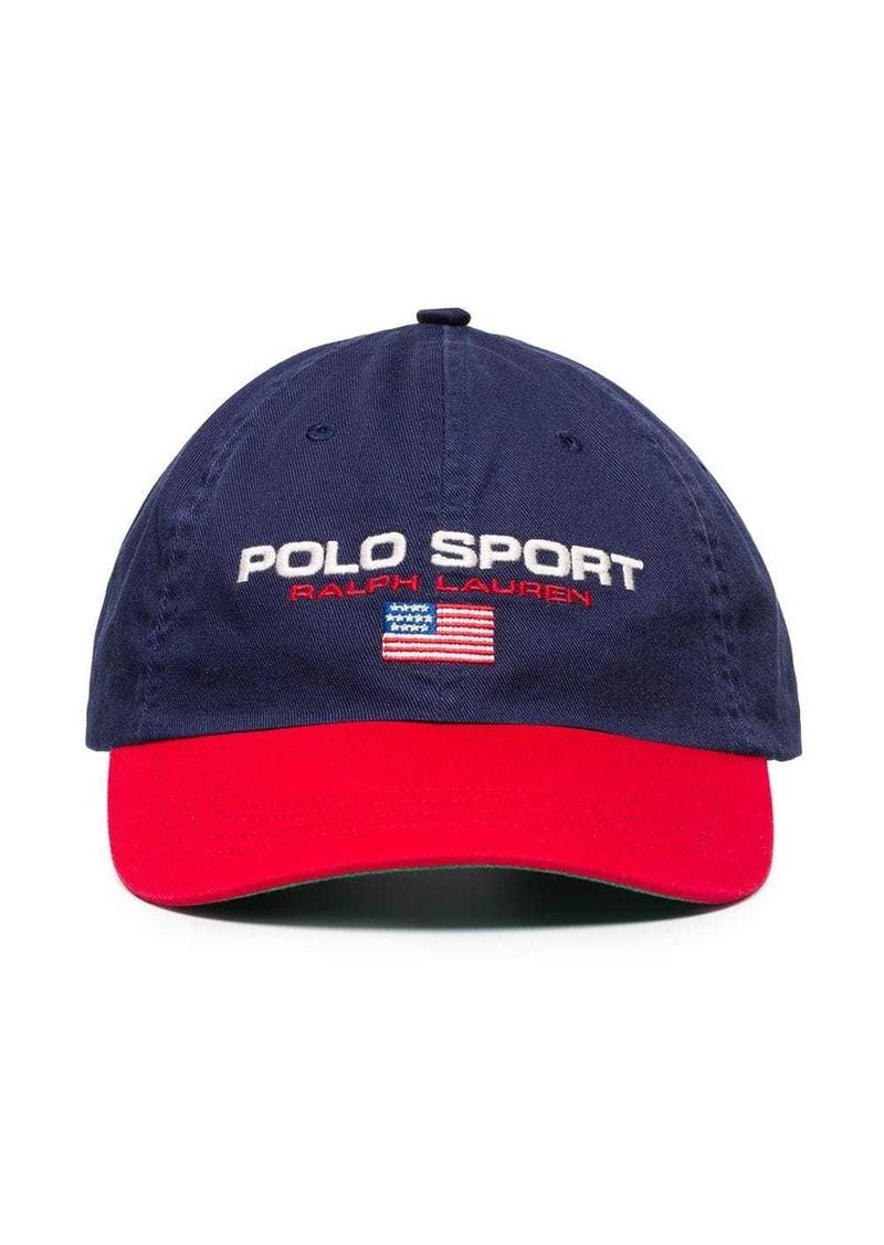 Ralph Lauren Polo logo-embroidered baseball cap