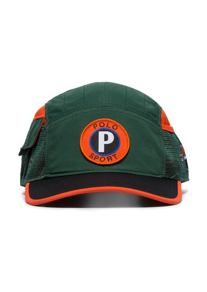 Ralph Lauren Polo logo embroidered baseball cap