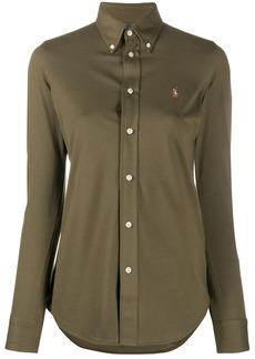 Ralph Lauren: Polo logo embroidered cotton shirt