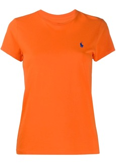 Ralph Lauren: Polo logo embroidered crew neck T-shirt