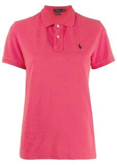 Ralph Lauren: Polo logo embroidered polo shirt