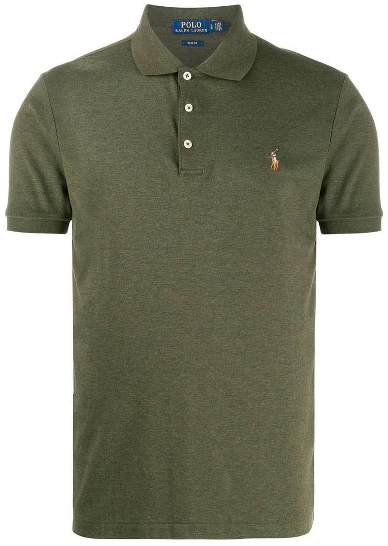 Ralph Lauren Polo logo embroidered polo shirt