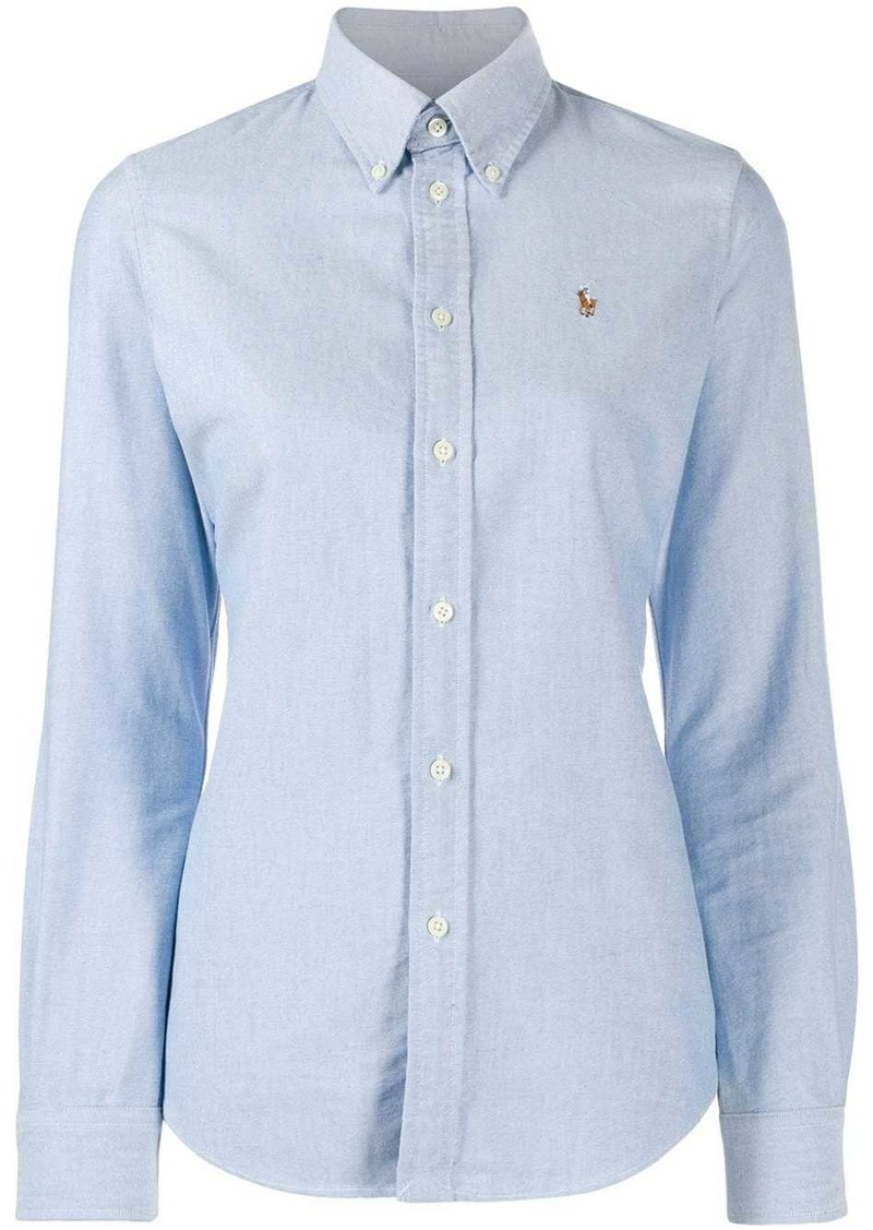 Ralph Lauren: Polo logo embroidered shirt