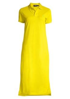 Ralph Lauren: Polo Logo Embroidered Short Sleeve Polo Dress