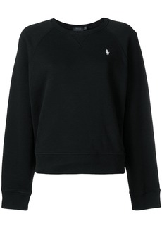Ralph Lauren: Polo logo embroidered sweater