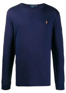 Ralph Lauren Polo logo embroidered sweater