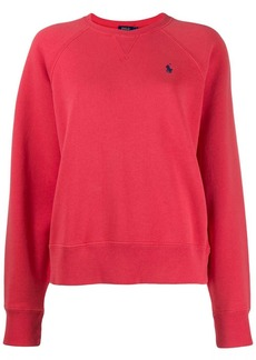 Ralph Lauren: Polo logo embroidered sweatshirt