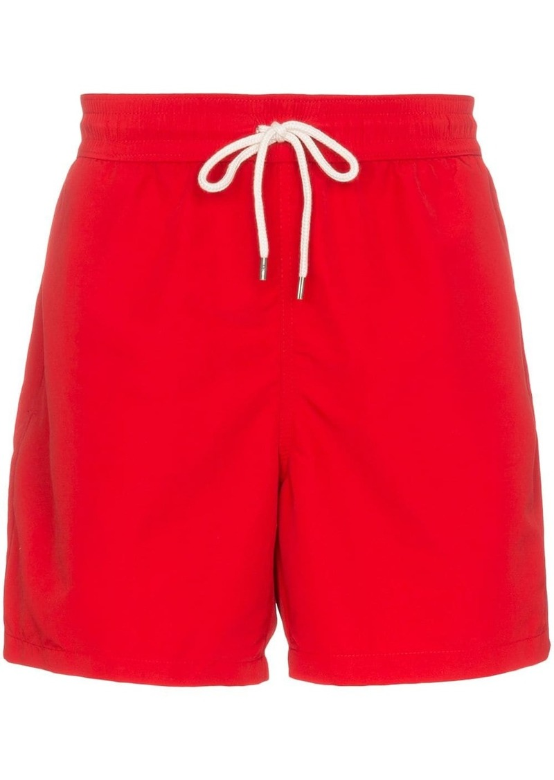Ralph Lauren Polo logo-embroidered swim shorts