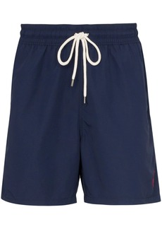 Ralph Lauren Polo logo embroidered swim shorts