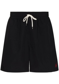 Ralph Lauren Polo logo embroidered swim shorts