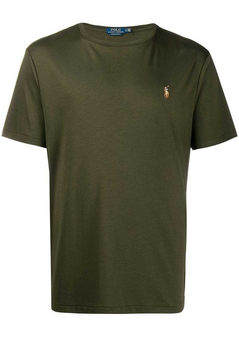 Ralph Lauren Polo logo embroidered T-shirt