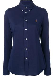Ralph Lauren: Polo logo fitted shirt