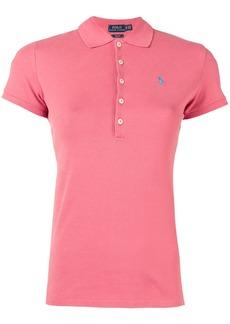 Ralph Lauren: Polo logo patch polo shirt