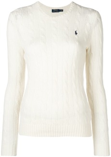 Ralph Lauren: Polo logo patch sweater