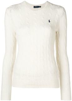 Ralph Lauren: Polo logo patch sweater