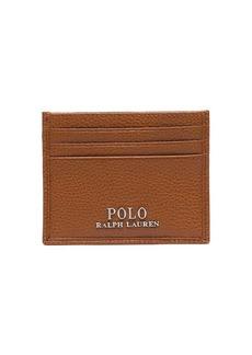 Ralph Lauren Polo logo plaque cardholder