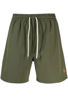 Ralph Lauren Polo logo-print deck shorts