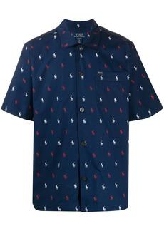 Ralph Lauren Polo logo print pyjamas