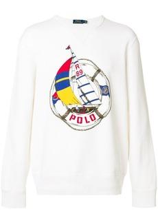 Ralph Lauren Polo logo print sweatshirt