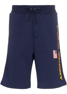 Ralph Lauren Polo logo print track shorts