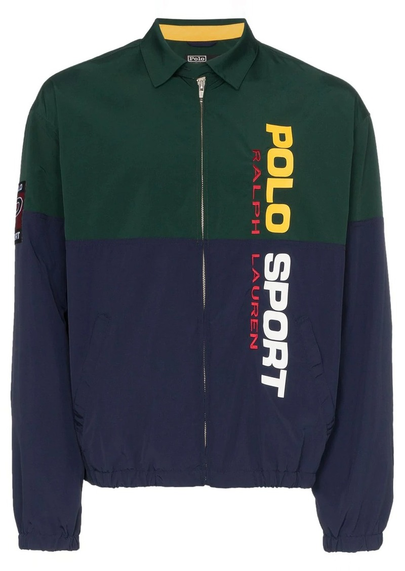 Ralph Lauren Polo logo printed jacket