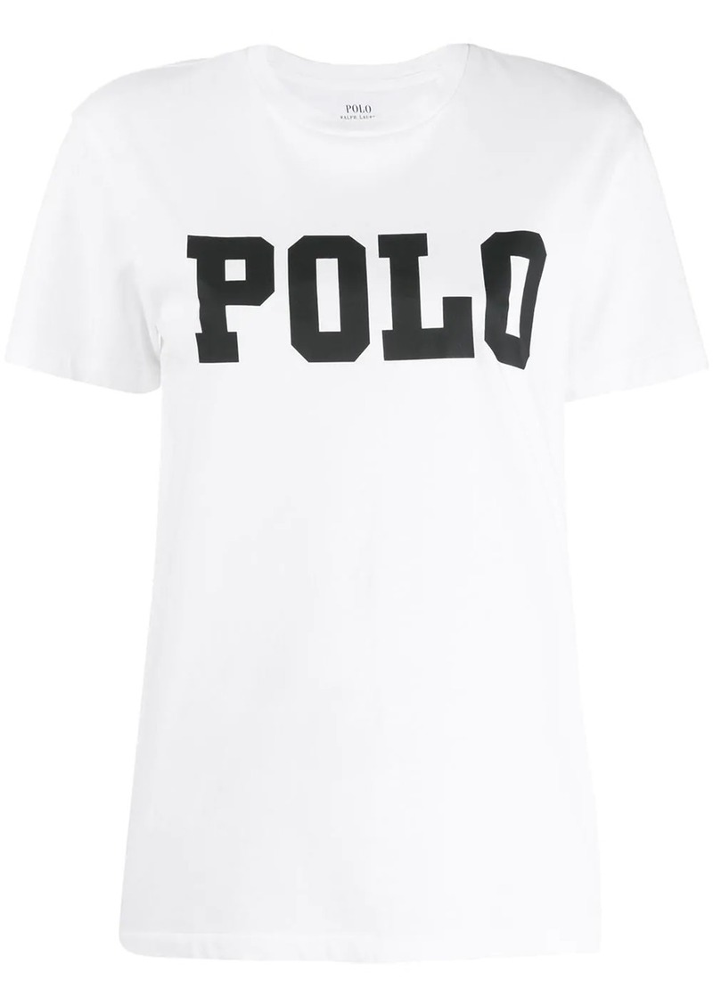 Ralph Lauren: Polo logo printed T-shirt