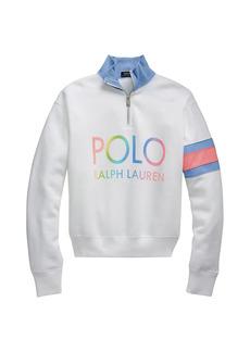 Ralph Lauren: Polo Logo Quarter-Zip Pullover