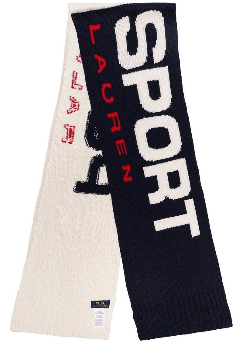 Ralph Lauren Polo logo scarf