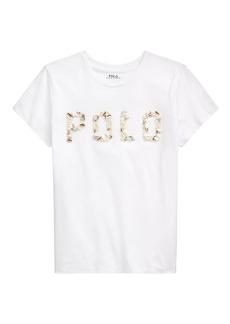 Ralph Lauren: Polo Logo Shell Graphic T-Shirt