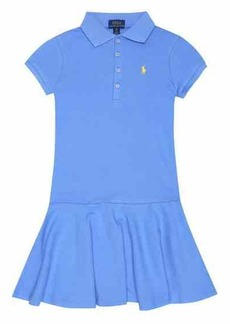 Ralph Lauren: Polo Logo stretch-cotton polo dress