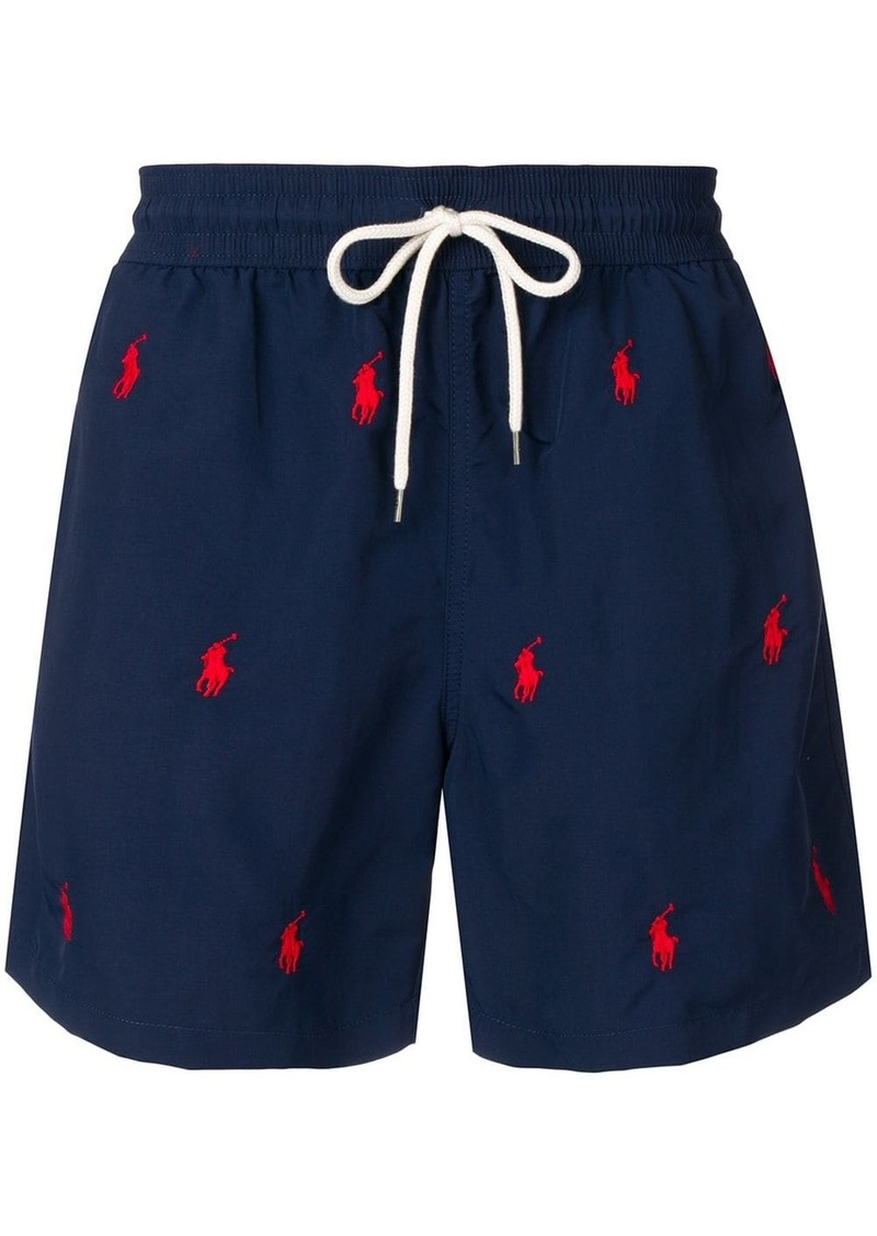 Ralph Lauren Polo logo swimming trunks